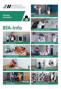 *BfA Info - Umgang mit Asbest